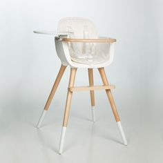 Stokke are well known for their great high chairs and our favourite is the Steps design. It starts as a baby bouncer, adapts to a newborn cradle, baby high chair and finally a children's chair...ingenious!