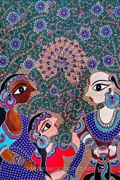 One more amazing painting by Bharthi Dayal