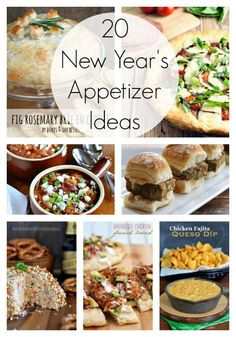 20 Delicious New Year's Appetizer Ideas