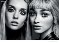Elle Canada Spotlights 60s Makeup Trends for My Generation