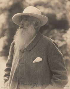 1926 Claude Monet Photo by Nickolas Muray. Claude Monet, Impressionist Paintings, Impressionism Art, Landscape Paintings, Nickolas Muray, Frida And Diego, Pierre Auguste Renoir, French Art, Water Lilies