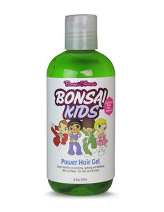 Bonsai Kids Care Hair Products  Power Hair Gel  www.bonsaikids.com