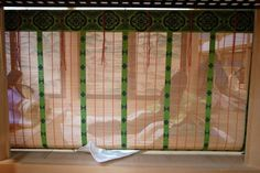 A glimpse though bamboo blinds: the Heian Costume Museum.