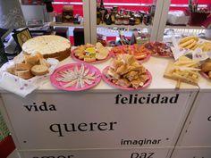 Lunch en la tienda. Tahona Artesanal Gourmet Bilbao.