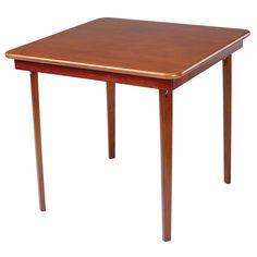 30 High Square Folding Table