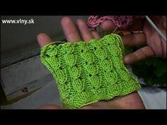 Letný dierkovaný vzor na pletenie - YouTube