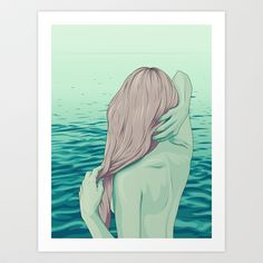 THE GREAT UNKNOWN Art Print by MORPHEUS - $17.99