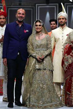 Deepak Perwani Dresses Fashion Pakistan Week WF 2016 Images