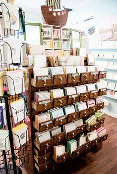 Greenwich Letterpress Stationery shop - New York