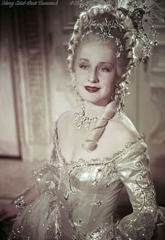 """Norma Shearer in """"Marie Antoinette,"""" Costume design by Adrian Marie Antoinette Film, Marie Antoinette Costume, Norma Shearer, Classic Hollywood, Old Hollywood, Hollywood Actresses, 18th Century Fashion, Marquise, Movie Costumes"""
