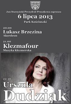 W sobotę, 6 lipca 2013 w Pruszkowie wystąpi Urszula Dudziak!