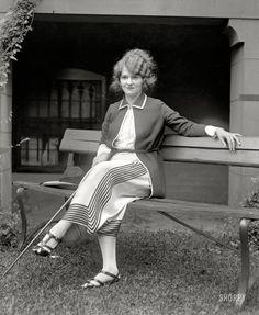 "Washington, D.C., circa 1922. ""Lulu McGrath."""