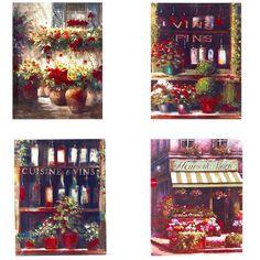 Πίνακας διακοσμητικός καμβάς με παράσταση λουλούδια σε  4 σχέδια για να επιλέξετε.   Διάσταση: 35x45cm