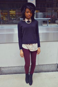 Teen Vogue's outfit of the day. Are you in or out with this style?