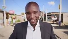 DA leader Helen Zille and Gauteng premier candidate Mmusi Maimane launched the party's second 'Ayisafani' TV advert in Mamelodi on Monday. Democratic Alliance, Tv Adverts, Greed, South Africa, Mens Sunglasses, Product Launch, Politics, Ads, Women