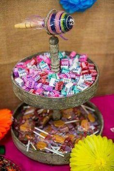 Mesa de dulces. Mexicana