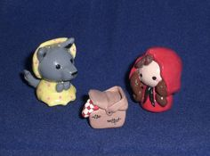 red ridinghood clay | Red Riding Hood by Reyndrys