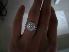 My 3.3ct Engagement Ring & Wedding Band !
