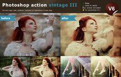 Photoshop vintage action III by *lieveheersbeestje on deviantART