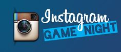 #Instagram themed Youth Ministry #GameNight!!! This would be perfect for scavenger hunts!!!