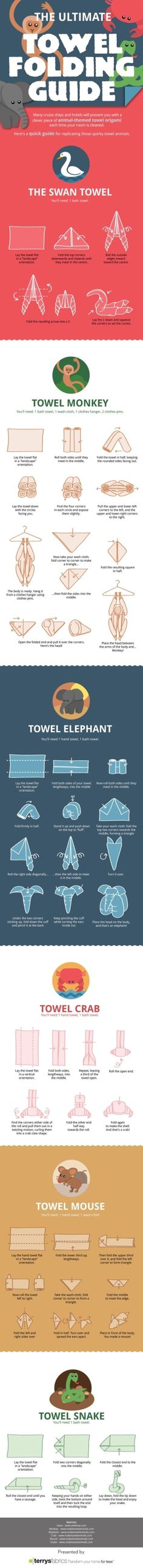 The Ultimate Towel Folding Guide Make laundry folding fun!