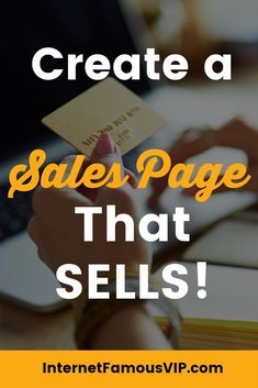 Are you looking for a sales page template, or needing a formula for inspiration? Check out the 15 Elements of a Successful Landing Page That Sells - and download the free Sales Page Checklist! #salespage #salespagetemplate #salespadeinspiration #salespage Affiliate Marketing, Online Marketing, Digital Marketing, Email Newsletter Design, Boss Lady Quotes, Branding Kit, Online Entrepreneur, Page Template, Pinterest Marketing