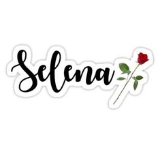 Buy 'Selena' by johannabaker as a Sticker. Selena Quintanilla Quotes, Cake Logo, Aesthetic Stickers, Cute Phone Cases, Hp Spectre, Love You So Much, Free Pictures, Logos, Frases