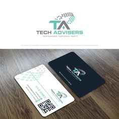 Tech Advisers - Combine technology, business and relationship - in one logo! (and business card) We advise small and medium businesses on IT strategy, business analysis, solution architecture and project management. Facebook Cover Design, Business Card Logo, Strategy Business, One Logo, Custom Logos, Resume, Logo Design, Cards Against Humanity, Relationship