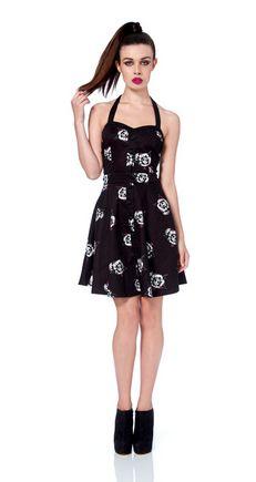 Polkadots & Roses Dress