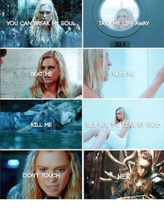 Bellarke❤️ the 100 The 100 Show, The 100 Cast, Bellarke, Orphan Black, Grey's Anatomy, Prayers For Strength, Strength Prayer, The 100 Serie, The 100 Quotes