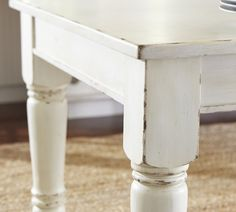 find this pin and more on shabby chic kitchens - Distressed White Kitchen Table