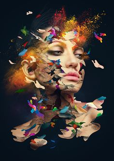Untitled Project A by Alberto Seveso, via Behance