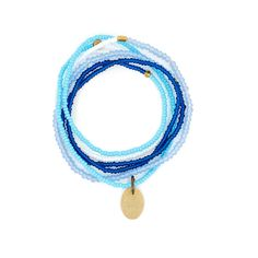 The Makery Heartstring long beaded necklace – Turquoise Necklace, Beaded Necklace, Heartstrings, Rainbow Colors, Seed Beads, Brass, Boho, Bracelets, Collection