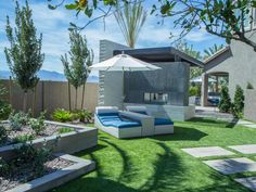 Drew and Jonathan Scott turned the backyard of their Las Vegas home into an over-the-top outdoor playground. See all the coolest features right here.