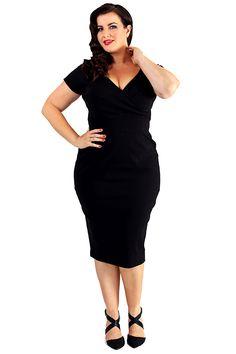 Retro šaty Lady V London Black Ursula Retro šaty ve stylu 50. let. Stylový f04d79abaf