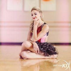 """Chloe (From """"Dance Moms) modeling for Just for KIX dance wear. (Internship Summer 2013 & 2014)"""