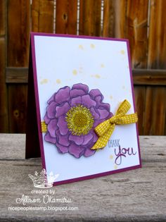 nice people STAMP!: Alcohol Markers: Blendabilities from Stampin' Up! & Blended Bloom Stamp