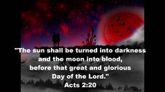 SEEING RED   The SIGNIFICANCE of the Four Blood Moons