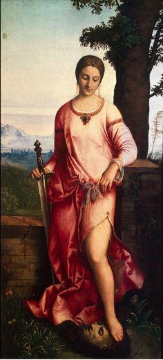 Italian painter Giorgione, Judith, circa 1504. (Via wiki paintings)