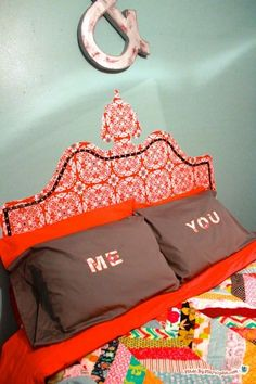 Learn to make DIY appliqué pillows with this tutorial.