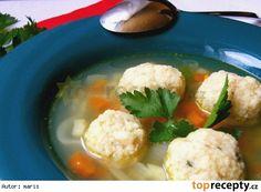 Kuskusové knedlíčky do polévky Chicken Recipes, Meat, Food, Essen, Meals, Yemek, Eten