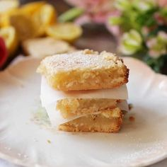 This is the best lemon bars recipe! Made with a buttery shortbread crust, this small batch recipe yields 3 to 4 small lemon bars. Mini Dessert Recipes, Dessert For Two, Easy Desserts, Dessert Bars, Single Serve Desserts, Single Serving Recipes, Lemon Recipes, Summer Recipes, Tea Recipes