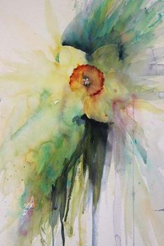 Ever Spring, watercolour by Jean Haines