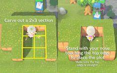 Animal Crossing New Horizons creations & qr codes Animal Crossing Guide, Animal Crossing Qr Codes Clothes, Animal Crossing Pocket Camp, Game Boy, Kleiner Pool Design, Motif Acnl, Motifs Animal, Island Design, New Leaf