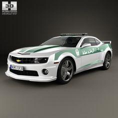 Chevrolet Camaro 2013 3D Max - 3D Model