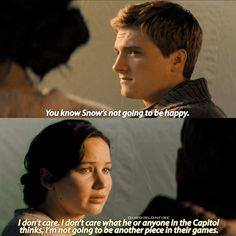 - This scene was taken from the catching fire deleted scenes if you didn't already know!
