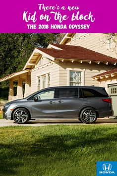 Everyone will be excited for the drive to school in the all-new 2018 Honda Odyssey. Click to learn more.