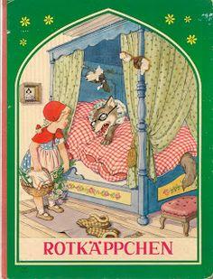 The Secret World of Hazel Catkins: Rotkappchen / Little Red Riding Hood