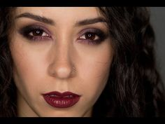 Purple and Black Eyeshadow Tutorial    Ft. Coastal Scents Revealed 3 Palette - YouTube