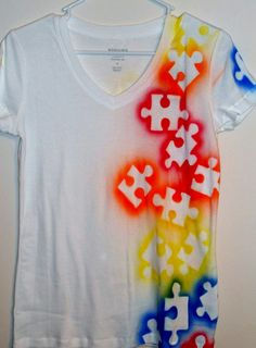 Make your own custom t-shirts your Best Buddy. Use permanent paints, markers or dyes and create matching, chapter, or unique designs on cheap cotton t-shirts